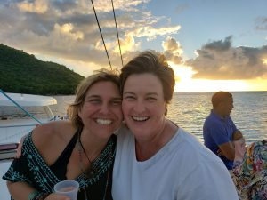 Me and Ina in St. Lucia